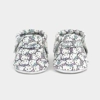 Freshly Picked Hello Kitty Limited Edition Size 5 Peek A Bow Leather Moccasins