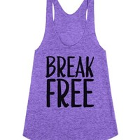 Break Free-Female Tri Orchid Tank