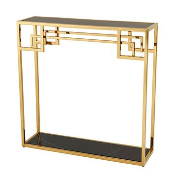 Gold Console Table | Eichholtz Morris
