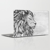 Poetic Lion B&W Laptop & iPad Skin by LouJah