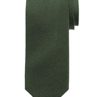Banana Republic Green Wool/Silk Tie Size One Size - Olive