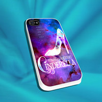Cinderella Quote For iPhone 4/4s,5/5s/5c, Samsung S3,S4,S2, iPod 4,5, HTC ONE