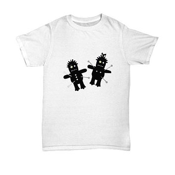 Halloween Dolls Voodoo Dolls Pins T-Shirt