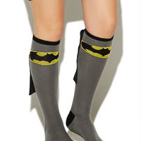 Batman Knee-High Socks | Wet Seal