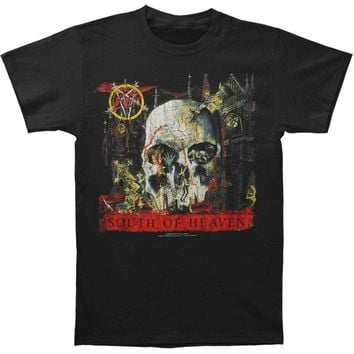 Slayer Men's  South Of Heaven T-shirt Black