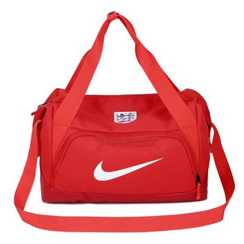 """Nike"" white hook Travel Duffel Bag Weekender Extra Large Tote Satchel Handbag G-A30-XBSJ"
