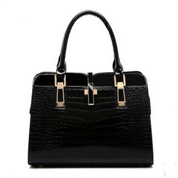 European and American women's fashion ol commuter bag business casual handbag Mobile Messenger wild women bag = 1920273732