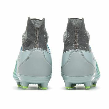 Sufei Football Boots Men High Ankle Superfly Soccer Shoes AG Professional Outdoor Kids Training Sock Cleats