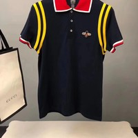 NEW 100% Authentic gucci 2018ss fashion polo shirt  ※010