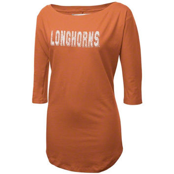 Texas Longhorns Women's Burnt Orange Boatneck Tunic