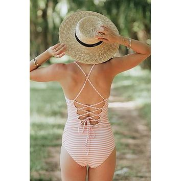 Peachy Keen One-Piece Swimsuit