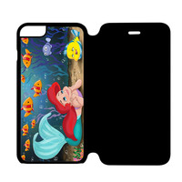 Princess Ariel and Flounder The Little Mermaid iPhone 6 Flip Case Cover