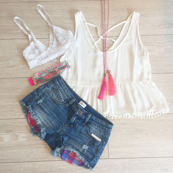 Cameron Denim Shorts