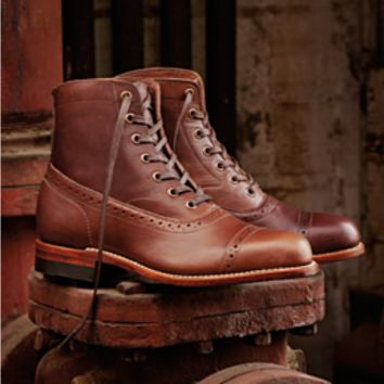 Mobile Site | Women's Evelyn 1000 Mile Boot - W00347 - Vintage Boots | Wolverine
