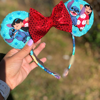 Lilo and Stitch Disney Minnie Ears