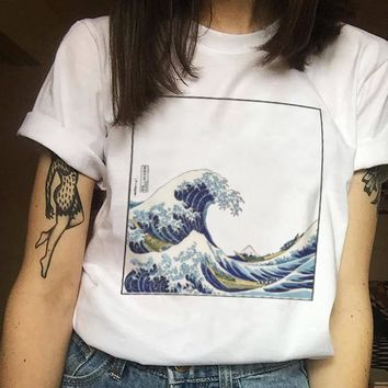 Comes in Waves Tee