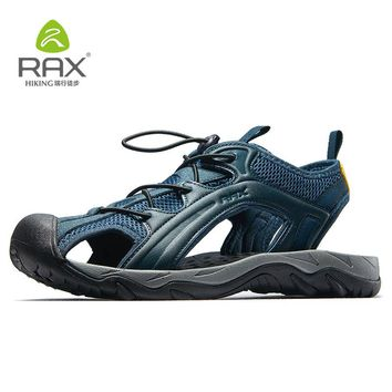 RAX Outdoor Hiking Shoes Men Summer Sandals Shoes Men Breathable Lightweight Sports Water Shoes Fishing Shoes Men Summer 465