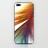 Pop Art Feather iPhone & iPod Skin by Ally Coxon   Society6