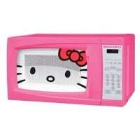 Hello Kitty 0.7 Cubic Feet 700 Watt Microwave - MW-07009 with Mini Tool Box (cog)