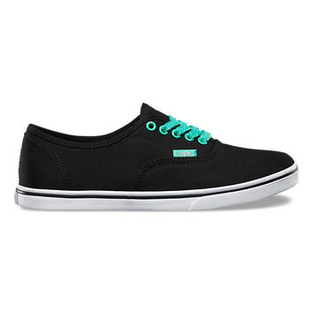 Glitter Eyelets Authentic Lo Pro | Shop Womens Shoes at Vans