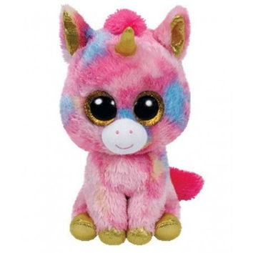 TY Beanie Boos Fantasia the Unicorn Small 6""