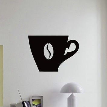 WALL DECAL VINYL STICKER COFFEE CAFE RESTAURANT DECOR SB968