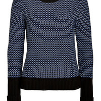 Rag & Bone - Cotton Patterned Knit Pullover