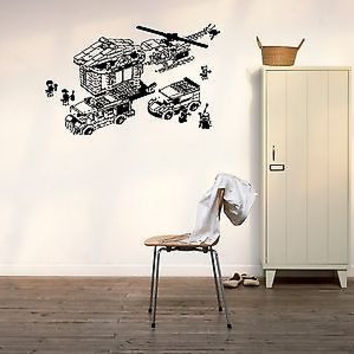 Lego Sticker Wall Vinyl Decal Kids Room Décor Nursery Décor Lego Wall Art 3782