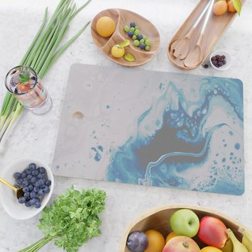 Atmospheric Cutting Board by duckyb