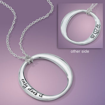Easy Does It Sterling Silver