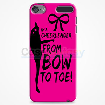 Cheers Cheerleader Bow To Toe iPod Touch 6 Case | casefantasy
