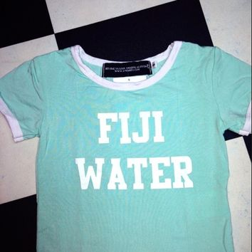 SWEET LORD O'MIGHTY! FIJI WATER RINGER TEE