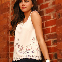Page 6 Boutique - Dainty Scallop Top