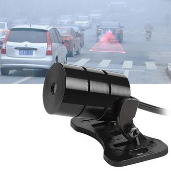 Car Laser Fog Lights Anti-collision LED Bulbs Brake Parking Warning Lamps Radiation Light Source Car-styling Auto Accessories