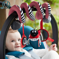 MQ Cute Infant Babyplay Baby Toys Activity Spiral Bed & Stroller Toy Set Hanging Bell Crib Rattle Toys For Baby