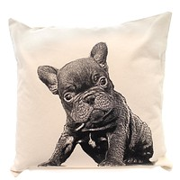 Home Decor French Bulldog Pillow Accent Pillow