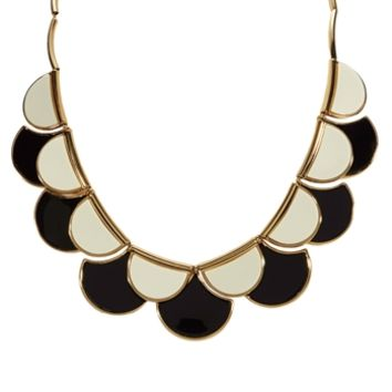 kate spade new york Scalloped Sweetheart Necklace at Von Maur