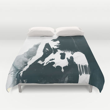 Daenerys / Khaleesi of Game of Thrones Duvet Cover by Allison Reich