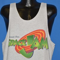 90s Space Jam Harry Looney Toons Movie Tank Top t-shirt Large