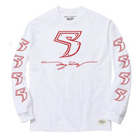 Ryders L/S Tee (White)
