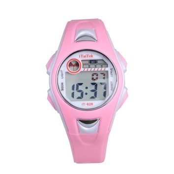 Cheapest Children Boys Swimming Sports Digital relojes Waterproof cute Cartoon Wrist Watch for kids girls gift