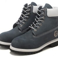 Best Deal Online Timberland 10061 Leather Lace-Up Boot Men Women Shoes