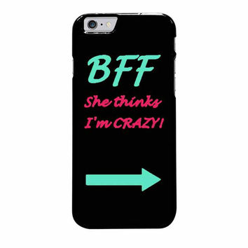 best friend bff couple left iphone 6 plus 6s plus 4 4s 5 5s 5c cases