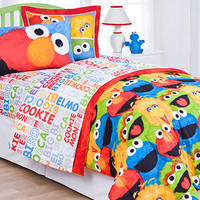 Sesame Street Comforter Set - Bed in a Bag - Bed & Bath - Macy's