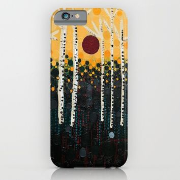 :: Red Moon Love Song :: iPhone & iPod Case by :: GaleStorm Artworks ::