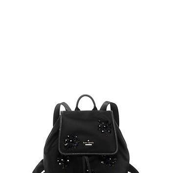 Kate Spade Classic Nylon Jewels Molly Black ONE