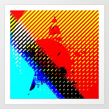 Tin star Art Print by MarlonStyle