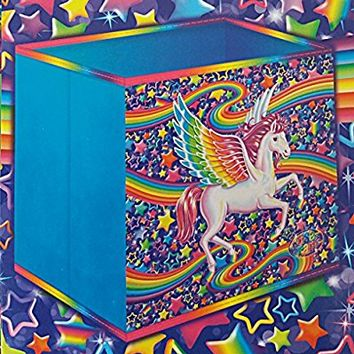 Lisa Frank Large Fabric Storage Bin, Pegasus