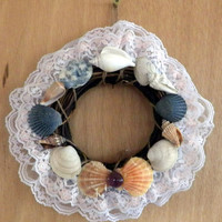 Small Wreath with Sea Shells