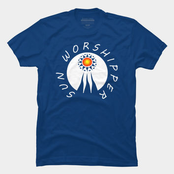 Sun Worshipper 2 T Shirt By Fringeman Design By Humans